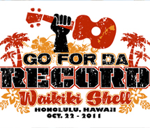 The Ukulele event at the Waikiki Shell will raise money for tsunami victims. // © 2011 Go for Da Record