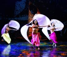 Tracing Hawaii's mythology and history over the centuries, Ulalena showcases dancers, singers, acrobats and musicians  // © 2012 Maui Theatre