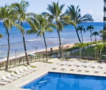 The Winter Escapes package from Aston Kaanapali Shores is one deal available to Maui visitors. // (c) 2012 Aston Hotels and Resorts