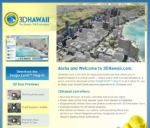 3D Hawaii provides an interactive way to plan your clients' next trip to Hawaii. // © 2010 3D Hawaii