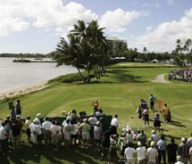 This year's Sony Open in Hawaii kicks off the first full-field event of the 2011 PGA Tour. // © 2010 Sony Open in Hawaii