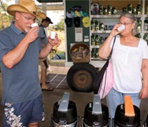 Guests can learn the secrets of Kona's world-famous coffee at Greenwell Farms. // © 2011 Gum Design, LLC