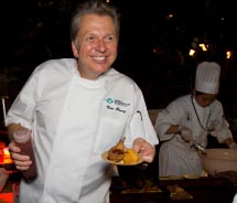 Dallas chef Dean Fearing at the 2011 Hawaii Food and Wine Festival on Oahu// © 2011 Travis Okimoto