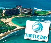 Turtle Bay Resort on Oahu's North Shore is changing its brand message. // © 2011 Turtle Bay Resort