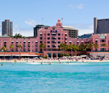 The Royal Hawaiian, Oahu // © 2012 HTA/Tor Johnson