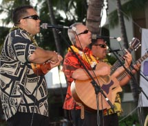 The band Maunalua performed at last year's Mele Mei. // © 2013 Mele Mei