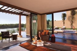 A guestroom at Banyan Tree Mayakoba // (c) Banyan Tree Hotels and Resorts