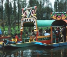 A canal ride through the floating gardens of Xochimilco. // (c) Mexico Tourism Board