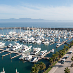 Hotel Coral & Marina has 357 dock slips for vessels. // © Hotel Coral & Marina