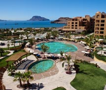<div>Villa del Palmar Loreto's turtle pools hint at the resort's driving goal to be one with its environment and protect local sea turtles. // © 2012...