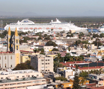 The industrial city by the sea, Mazatlan, is looking forward to welcoming cruise ships back to the destination. // © 2012 Mazatlan Hotel Association