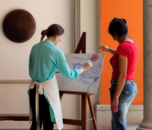 Rosewood San Miguel de Allenda offers an art program for guests. // © 2012 Rosewood Hotels & Resorts