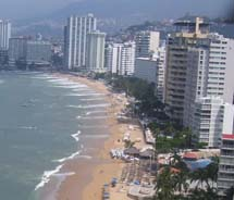 Acapulco reports high occupancy levels after the Mexican Tennis Open, the 2011 Real Cliff Diving Championship and the Carrera del Golfo al Pacifico...