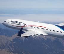 Aeromexico recently increased the variety of its flight itineraries for West Coast travelers. // © 2011 Aeromexico