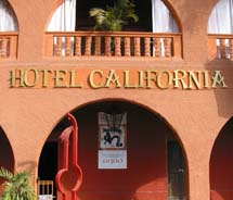 The Hotel California in Todos Santos, Mexico, has joined the Los Cabos Hotel Association. // © Credit Hotel California