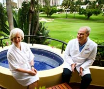 For its wellness program, Casa Velas works in conjunction with board-certified, bilingual doctors. // © 2011 Casa Velas