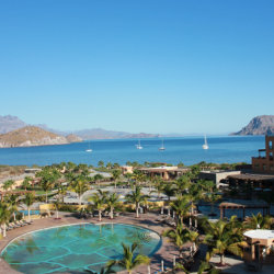 Villa del Palmar Loreto fronts the Sea of Cortez in a remote area of Baja California // (c) 2013 Monica Poling