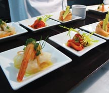 Fine food is a highlight at Royal Hideaway Playacar. // © 2010 Royal Hideaway Playacar