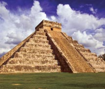 Chichen Itza is one of the most famous examples of Maya architecture in the Yucatan. // (C) 2012 Mexico Tourism Board