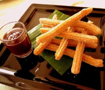 Churros are the perfect way to end a meal. // © 2012 Luna Maya Restaurant