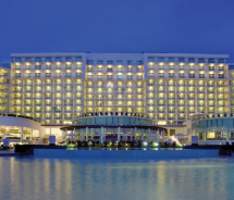 The Hard Rock Hotel Cancun was formerly the Cancun Palace. // © 2012 Hard Rock Hotels & Casinos