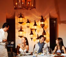 Frida Resturant is a AAA Four Diamond awarded restaurant.  // © 2012 Grand Velas Riviera Nayarit