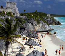 Tulum is part of the Riviera Maya. // © 2012 Thinkstock