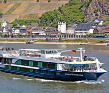 Avalon's newest suite ships will resemble the design of the Avalon Panorama. // © 2012 Avalon Waterways