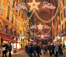 A Christmas markets cruise is one of the most popular theme cruises. // © 2012 Avalon Waterways