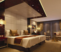 New Executive Suites on the Century Paragon // © 2011 Century Cruises