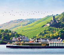Uniworld wins Readers' Choice Award for river cruising // © 2011 Uniworld Boutique River Cruise Collection