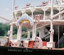 Themed cruises on the Mississippi gain popularity. // © 2013 American Queen Steamboat Company