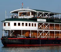 Pandaw Cruises is issuing a warning regarding Pandaw India sailings for this fall. // © 2010 Pandaw Cruises