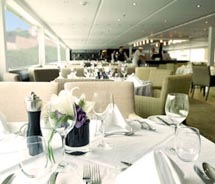 On board restaurant // © 2010 Scenic Tours