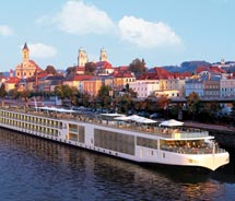 A rendering of one of Viking's new Longships // © 2011 Viking River Cruises