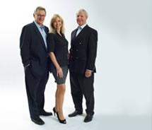 Left to right: Rudi Schreiner, Kristin Karst and Jimmy Murphy, founders of AmaWaterways // © 2011 Volker Corell