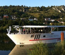 The Viking Prestige on the Danube // © 2012 Janeen Christoff
