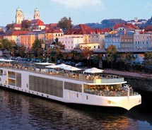 Viking River Cruises use diesel-electric hybrid engines. // (C) 2012 Viking River Cruises