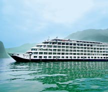 Century Cruises has enhanced its fleet to create a more elegant atmosphere. // © 2012 Century Cruises