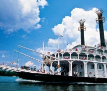 American Queen will sail on the Mississippi, Ohio and Tennessee rivers. // © 2012 American Queen Steamboat Company
