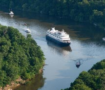 The Yorktown offers small-ship experiences on historic waterways in the U.S. // © 2013 Travel Dynamics, International