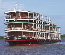 The River Saigon is a sister ship to the River Orchid. // © 2013 Uniworld Boutique River Cruise Collection