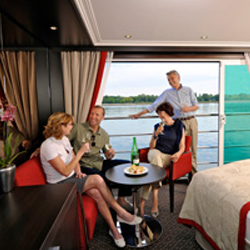 Avalon Waterways will have more suites than regular staterooms with the launch of three more Suite Ships. // © 2013 Avalon Waterways