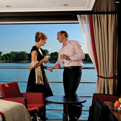 The new ships will have two full decks of suites. // © 2013 Avalon Waterways