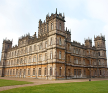 "The hit series ""Downton Abbey"" is filmed at Highclere Castle. // © 2013 Viking River Cruises"