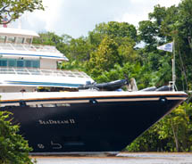 The Sea Dream II will sail the Amazon River. // © 2012 SeaDream Yacht Club