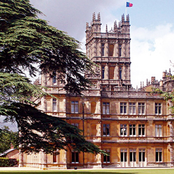 Highclere Castlegives Viking guests privileged access. // © 2013 Highclere Castle