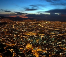 Bogota nightscape // © 2007 Candor, Flickr.com