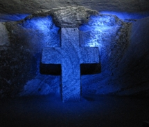 The Salt Cathedral of Zipaquirá, built in the underground tunnels of a salt mine located just outside of Bogota is must-visit attraction for first-time visitors to the city // (c) 2011 Monica Poling