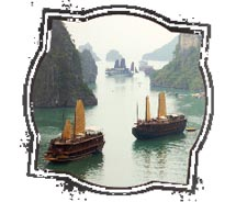 Clients can experience dramatic landscapes sailing on Halong Bay. // © 2010 Dibrova